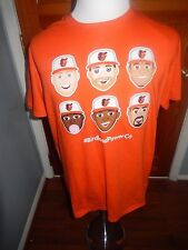 Baltimore Orioles SGA Omoji Emoji T-Shirt Machado, Trumbo, Davis, etc. NEW XL