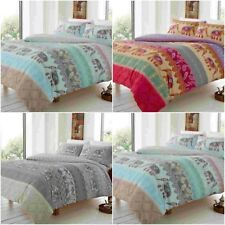 ELLY STYLE ELEPHANT DUVET QUILT COVER SET WITH PILLOW CASES BEDDING SETS