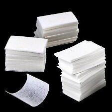 Nail Remover Wipes Polish Gel Cleaner Manicure Lint Cotton Pads Paper Art  XW
