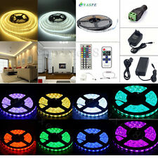 20M 10M 5M LED SMD 3528/5050/5630 RGB Flexible Strip Light /Remote/ Power Supply