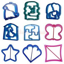 Kids Lunch Sandwich Toast Bread Cake Cookies Biscuit Food Cutter Mould Mold DIY