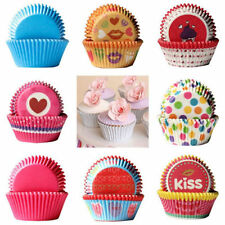 100PCs Paper Cake Cupcake Liner Case Wrapper Mini Muffin Baking Cup Party Mould