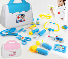 Pretended Doctor's Nurse Medical Carry Case Medical Role Play Set Kids Gift Toy