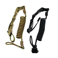 Tactical Heavy Duty Pistol Lanyard Airsoft Quick Release Secure Pistol Sling Ops