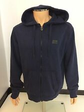 True Religion Men's Hoodie, XXL, 2xl, Blue, Jumper, Cardigan Immaculate
