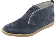 Hush Puppies Men's Roland Jester Navy Suede Ankle Boots Shoes HM01330-410