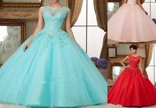 Custom Quinceanera Dress Party Evening Ball Formal Prom Gown Dresses Wedding New
