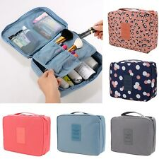 Travel Makeup Cosmetic Toiletry Case Wash Organizer Storage Pouch Hanging Bag WN