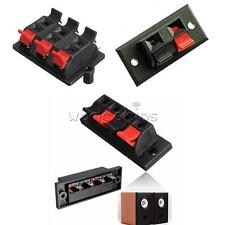 2P 4P 6P Way Audio Speaker Terminal Double Spring Clip Jack Plug Socket Switch
