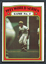 1972 Topps #226 World Series Game 4 Clemente EXMT 86011