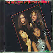 The Metallica Interviews Volume 2 CD from 1992