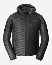 EDDIE BAUER mens Jacket with HOOD New with Tags 800 Fill Power warm Goose DOWN