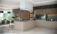 NEW - STONE GREY KITCHEN UNIT CUPBOARD DOORS, DRAWERS, PLINTHS & PANELS