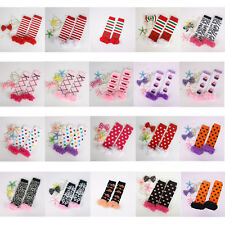 Cute Lovely Baby Toddler Girl Lace Cotton Ruffles Legging Arm Leg Warmers Socks