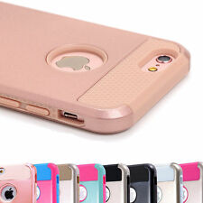 FOR Apple iPhone 6 6s Plus Hybrid Rugged Rubber Hard Shockproof Cover Case New