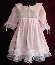 Sweet Lacy Adult Baby Sissy Dress Set Aunt D