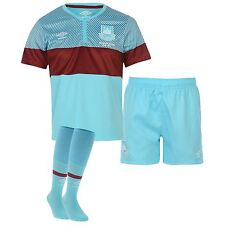 New GENUINE West Ham United 2015/16 Away Kit Shirt Shorts Socks  Age 2-3
