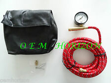 GM On Board Air Compressor Hose Kit w/ Attachments Gauge Adaptors New with Case