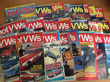 Dune Buggies & Hot Vws Magazine Back Issues;  Volkswagen Bug Bus Ghia Thing
