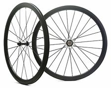 Road bike carbon wheel,38mm clincher/tubular,700C x 23 road bike carbon wheelset