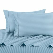 Exclusive Blue color Hotel Collection Satin Stripe 2Pc Bedding Comforter