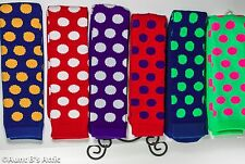 Socks Novelty Polka Dot Quality Adult Knee High Clown Tube Socks One Size