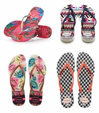 Havaianas Slim Retro,Tropical, Tribal Women's Flip Flops All Size