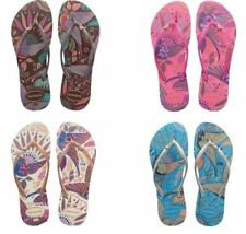 Havaianas Brazil Slim Royal Bird's Charm Women's Sandal Flip Flops All Sizes
