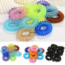 Girl Rope Elastic Rubber Hair Ties Hair Bands Bobbles Ponytail Holders 12pcs WN