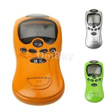 LCD Full Body Acupuncture Digital Therapy Massager Machine with 4 Electrode Pads