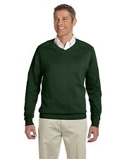 New Devon & Jones Mens V-Neck Sweater- Sizes 2XL & Up