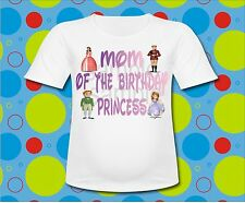 Sofia the First Family Mom of the Birthday Princess T Shirt All Sizes sayings