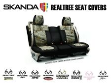 Coverking Realtree Camo Custom Front and Rear Seat Covers for Toyota Tacoma