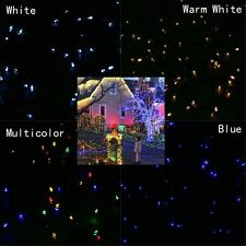 50/100/200LED Solar Power Garden Fairy String Light Christmas Xmas Wedding Party