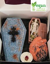 Bath Bomb black 4 Gift Set Gothic Dreams Lush Highly Scented Valentines Day Hex