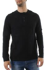 Levis Long sleeve Men LS REFLECT HENLEY 19344-0007 Black