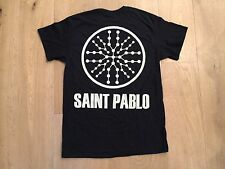 Kanye West Saint Pablo Tour shirt short sleeve BLACK yeezy OAKLAND concert