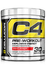 C4 Extreme Gen 4 Pre-workout Supplement | 30 Servings | 60 Servings