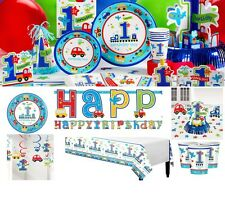All Aboard Chu Chu Train Party Birthday Boy Party Supplies Decoration Plates Cup