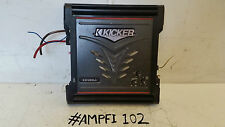 kicker amplifier kicker zx400 1 subwoofer amplifier bass boost control cross over