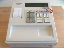 CHEAP EASY 2 USE SHARP CASH REGISTER SHOP TILL BUNDLE 6 M`TH G`TEE FAST DELIVERY