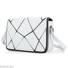 Water Cube Patchwork Cover Shoulder Bag for Lady Handbag Shoulder Messenger Bag