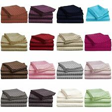 Hotel collection Luxurious Comfort 1800 Deep Pocket 4 Piece Bed Sheet Set Queen