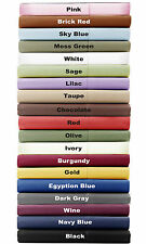 Water Bed Sheet Set 1000 Thread Count 100% Egyptian Cotton Choose Color and Size