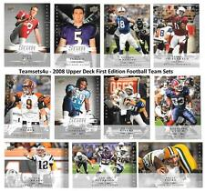 2008 Upper Deck First Edition Football Set ** Pick Your Team **