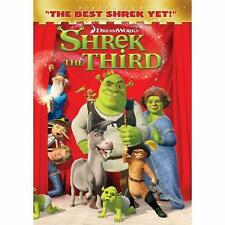 •• Shrek the Third (DVD, 2007, Widescreen Version) Preowned Nice Condition