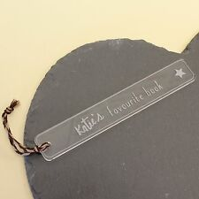 Childrens Personalised Bookmarks Kids Gifts | Engraved Bookmark Birthday Gifts