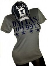 "Dallas Cowboys Lt.Wt Jersey Dark Grey Tee & Navy Fitted Adj Cap "" Combo  Deal """
