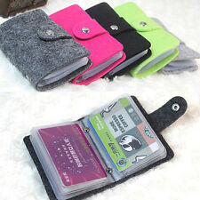 New Men Women Business Card ID Bank Credit Card Holder Wallet Organizer Case Box