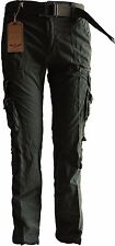 Men's Sports Military Inspired Workwear Utility Cargo Pants